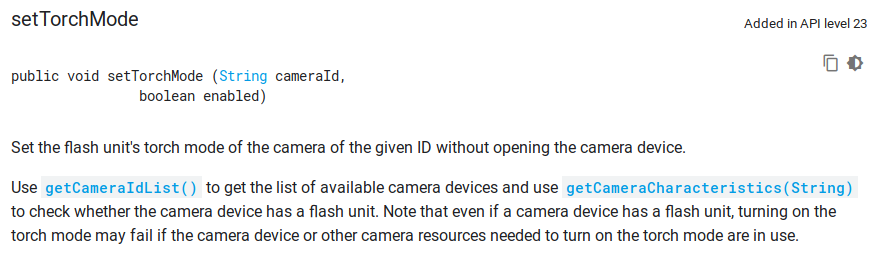 CATROID-88] Crash when using Flash brick on a device without